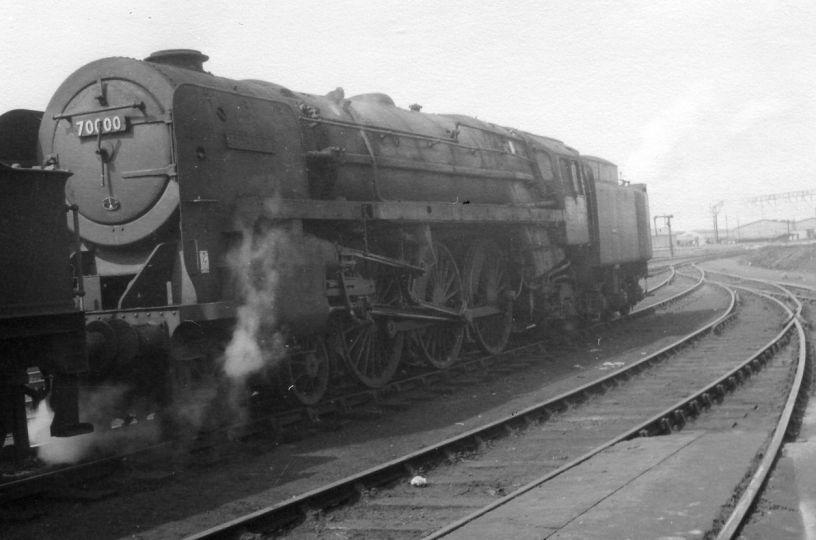 70000 Britannia Class Steam Locomotive 4 6 2 Pacific Br