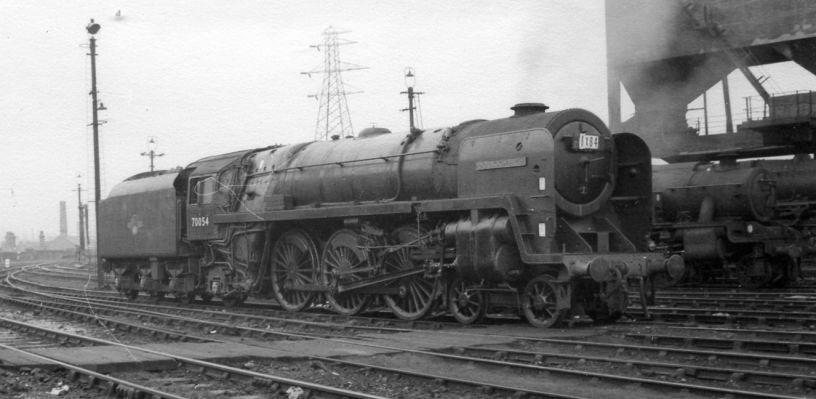 70013 OLIVER CROMWELL Steam locomotive Britannia Class 4-6-2