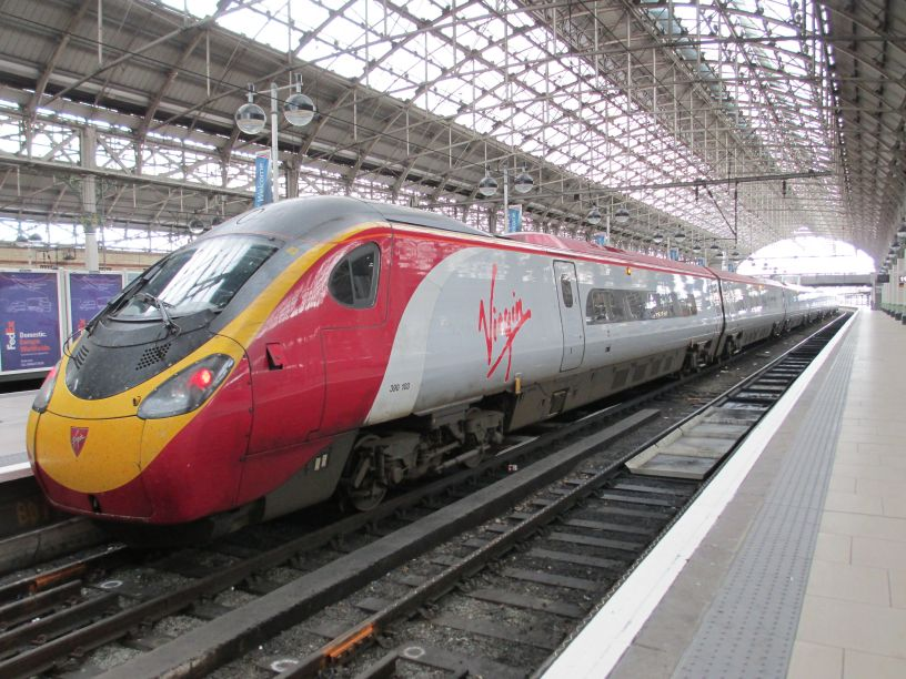 virgin train times manchester to london