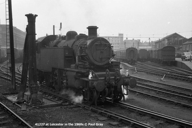 41241 Br Tank Engine Ivatt Lms Class 2mt 2 6 2t Steam
