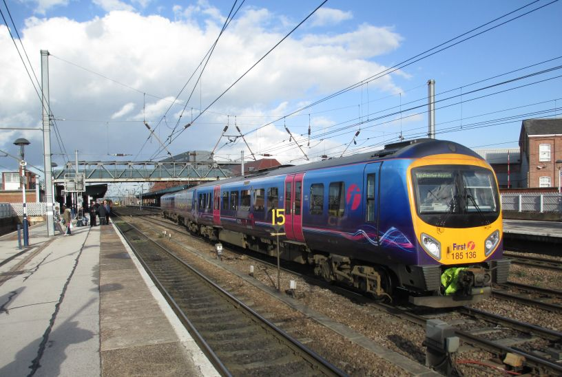 North West TransPennine North TransPennine South TransPennine Express trains  services stations routes images photos pictures photographs