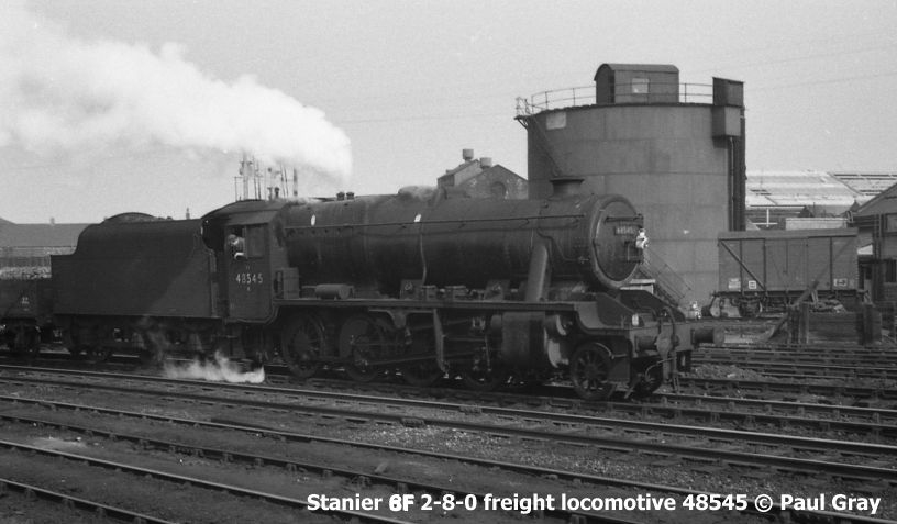 Br 48624 Lms 8624 Steam Locomotive Stanier Class 8f 2 8 0