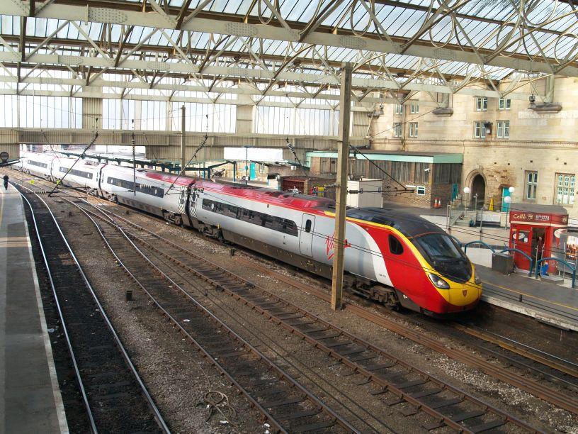 Virgin Trains services stations routes West Coast Mainline London to