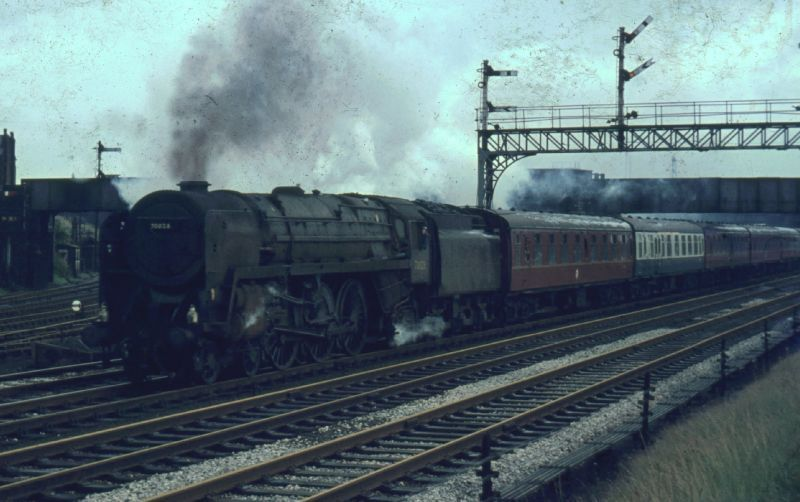 70013 Oliver Cromwell Steam Locomotive Britannia Class 4 6