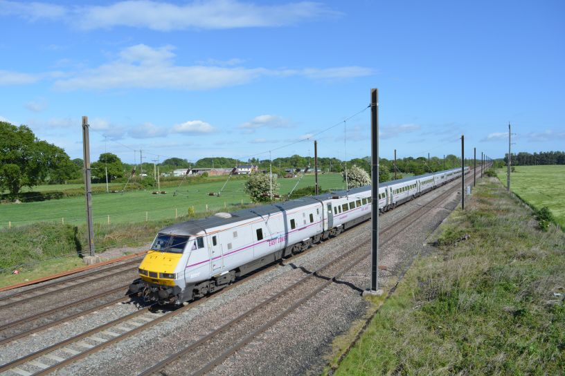 Virgin Trains East Coast services stations routes images