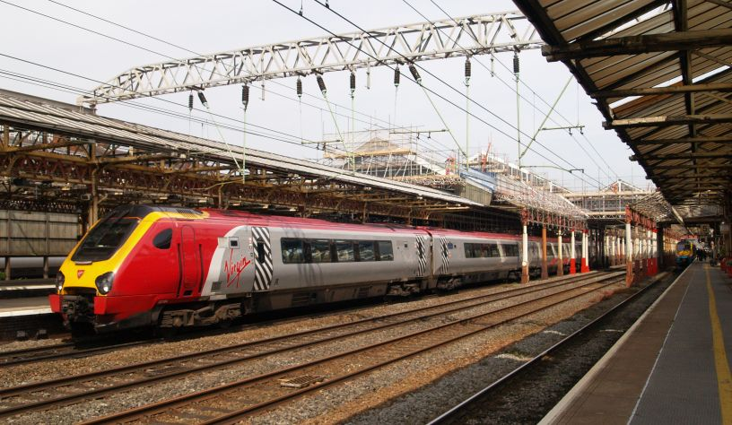 Class 390 Virgin Trains at