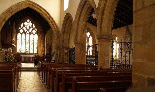 41a Ainderby Steeple Village St Helen S Church
