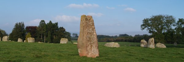 Prehistoric Stone Circles Called The Prehistoric Stone Circle
