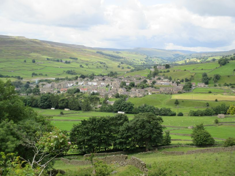 Reeth mining museum pubs cafes waks from walking in Swaledale ...