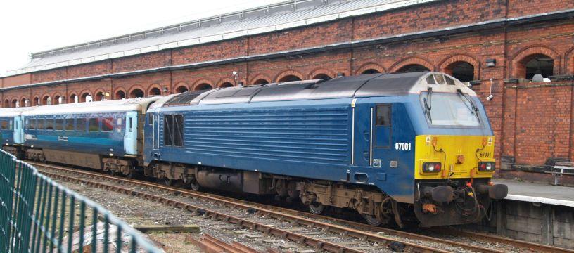 Class 67 Alstom General Motors Emd Diesel Electric Bo Bo Locomotives 67005 67006 Royal Train