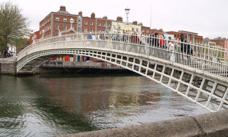 Image result for dublin bridges river centre