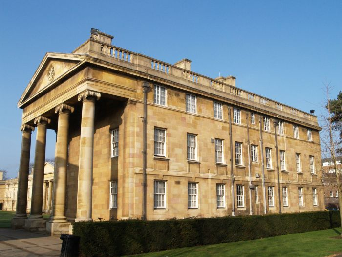 Downing College Cambridge University England