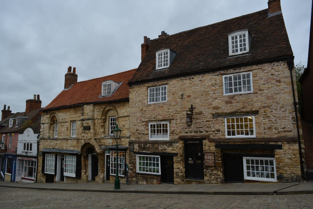 Lincoln High Street The Strait Steep Hill medieval buildings