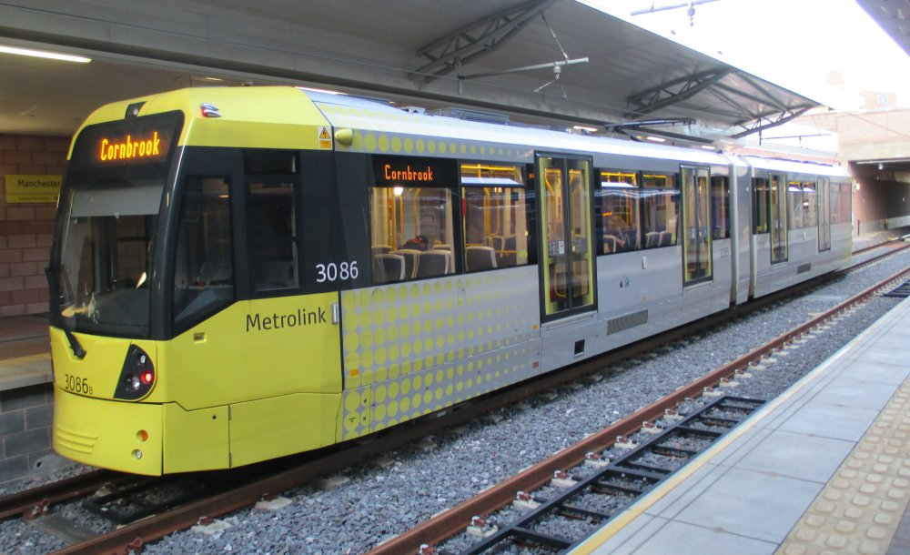 gcse physics uses of energy transport electric tram systems metro metrolinks around city