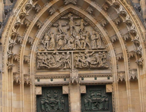 9 Prague St Vitus Cathedral Medieval Gothic Style