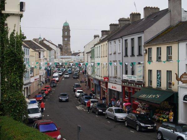 Enniskillen County Fermanagh cafes pubs castle churches Killymaddy Northern Ireland tourist ...
