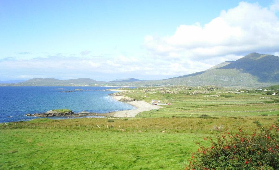 6 Mweel Rea Mountain And Lettergesh Beach Ireland Images