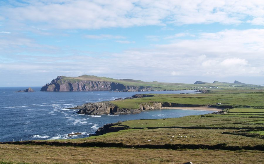 44 The Coast Between Dunquin And Ballyferriter The