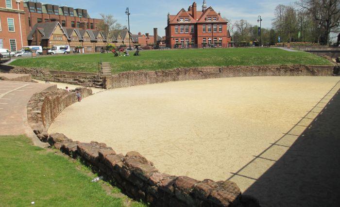 Roman Chester Gardens Amphitheatre Gateways