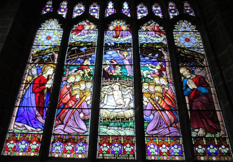 Chester Cathedral Stained Glass Window