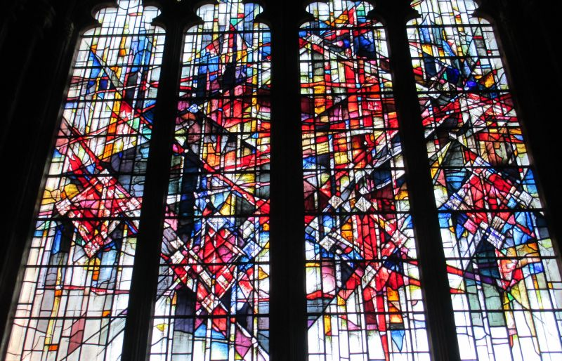 Chester Cathedral Rather More Modern Stained Glass Windows