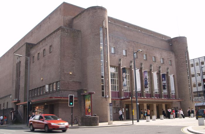 The Philharmonic Hall in Hope Street dates from 1937 1939 by the architect  Rowse. P7208861 jpg