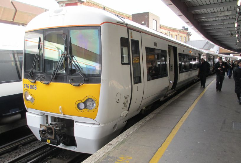 Class 376 Electric Multiple Units Emus Electrostar