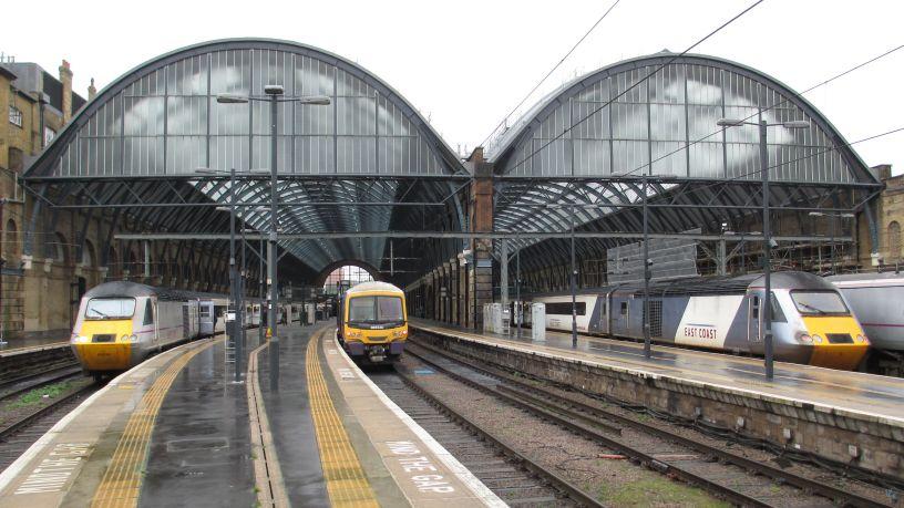 london peterborough train bus