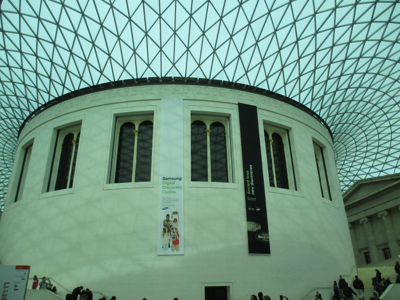Foyer Museum London : British museum london archaeological artifacts exhibits