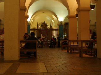 Crypt Cafe St Pauls