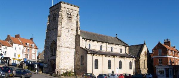 St Michael's Church, in Market Square, Malton.