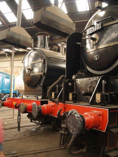 P on Steam Locomotive Valve Gear