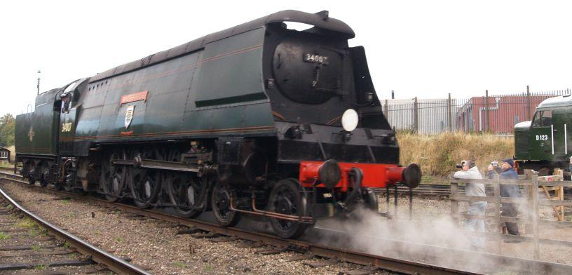 34007 >> 34007 Wadebridge Steam Locomotive Classes Wc Bb Bullied 4 6 2