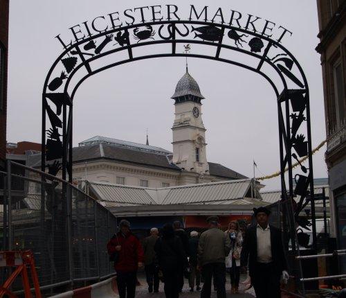 Leicester Highcross Shopping Centre Memorial Clock Tower