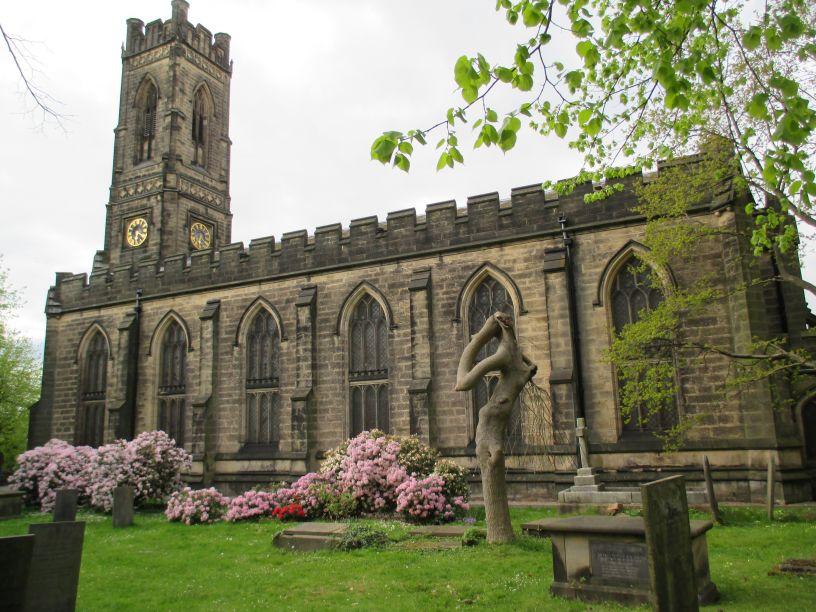 Plain glass windows - Belper St Peter S Church Dalesmen Singers Concert Festival