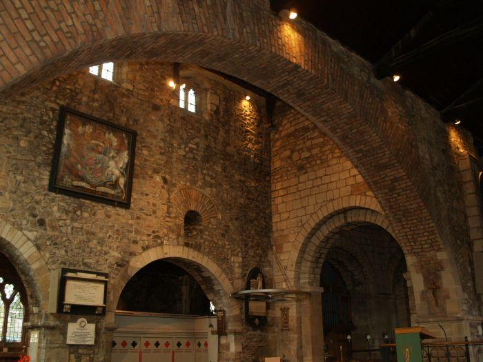 Leicester St Nicholas Church Jewry Wall Museum Roman
