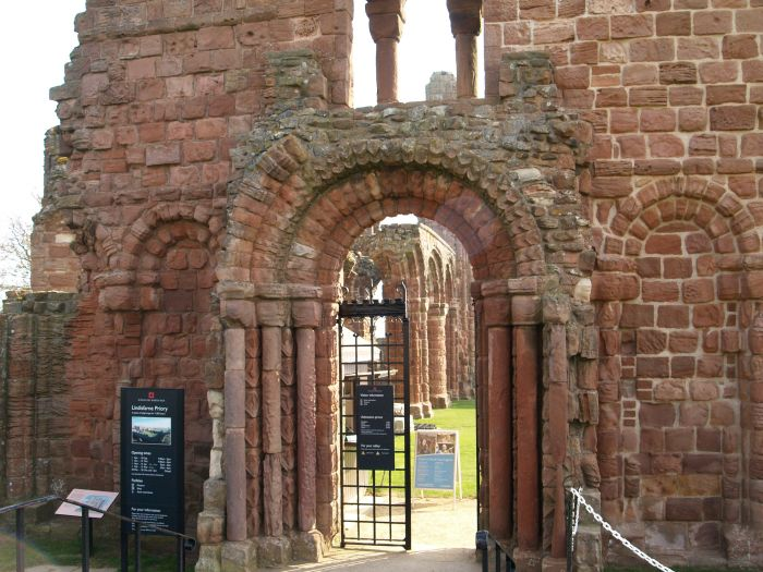 42a Holy Island 1 Museum Lindisfarne Priory And St