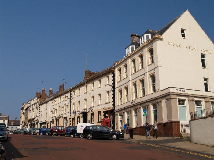 44a Berwick Upon Tweed 1 Town Hall Buildings Market