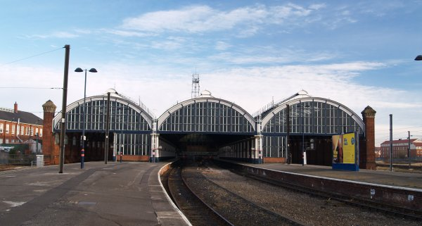 London King S Cross Station Architecture Train From