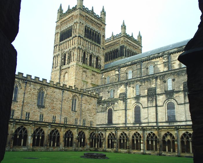 Durham Cathedral history architecture nave Galilee Lady