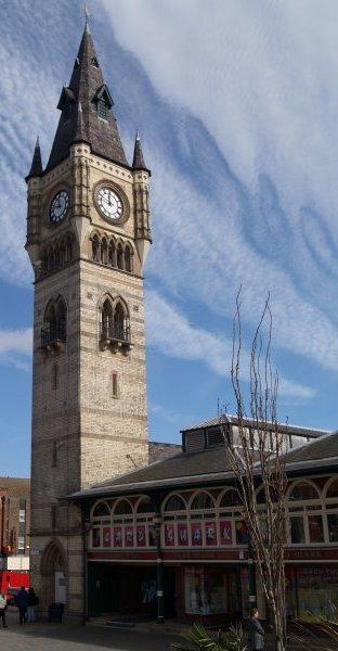 Darlington Market Town St Cuthbert S Church History