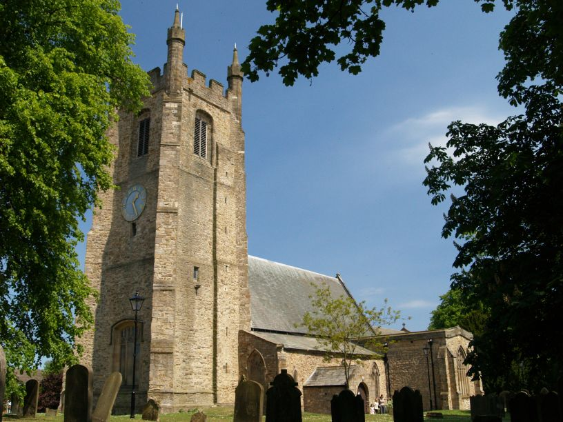 The Me Val Church Of St Edmund Church Of England In The Co Durham Town Of Sedgefield