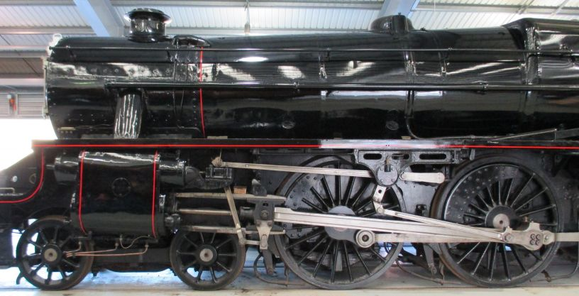45000 Steam Locomotive LMS 5000 Stanier Black Five Class 5MT