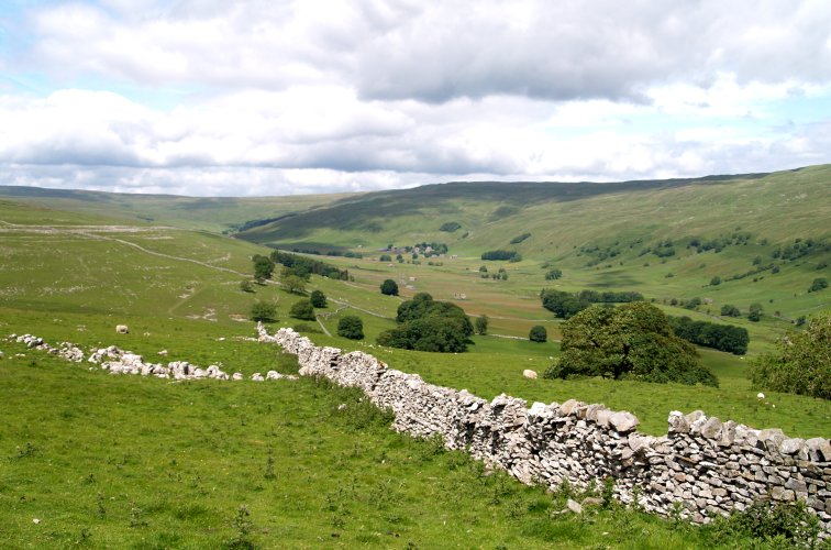 70 The Glaciated Valley Of Littondale Yorkshire Dales