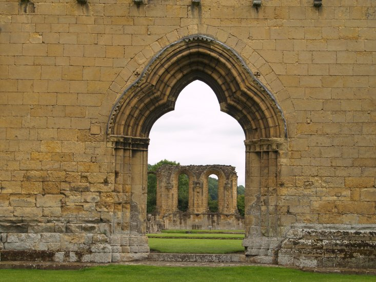 Picture 24 The Entrance To Byland Abbey North Yorkshire