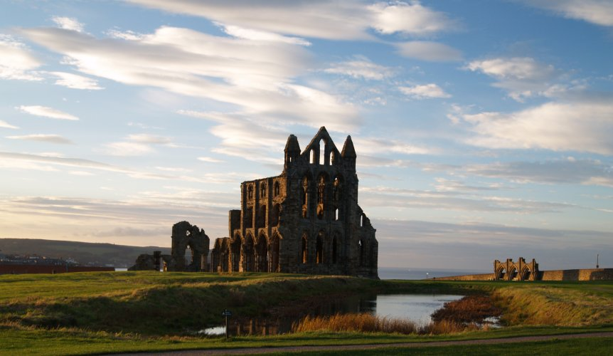 65 The Classic View Of Whitby Abbey 2 In The Evening