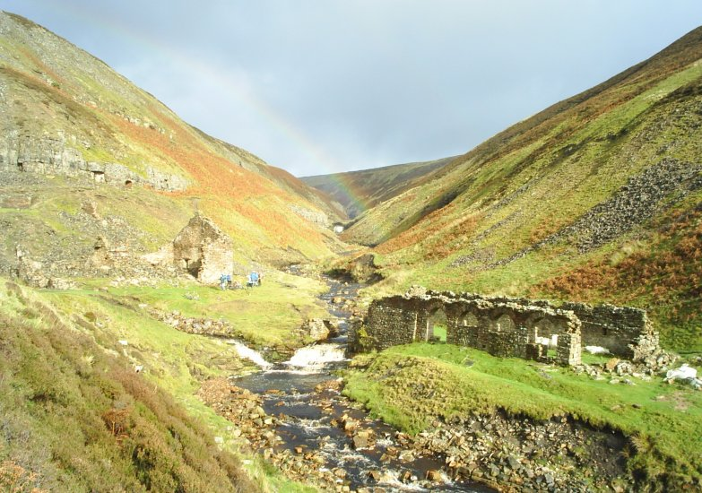 Picture 13 Ruined Buildings In Gunnerside Gill Swaledale