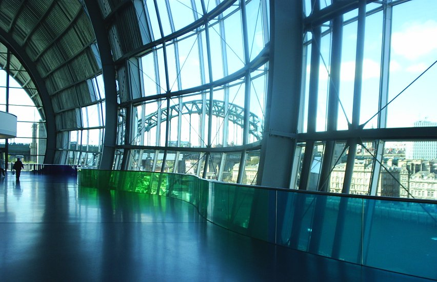 Picture 15 The Tyne Bridge Viewed From Inside The Sage
