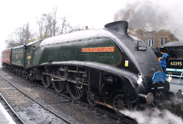 60009 Union Of South Africa Lner 4488 Class A4 Gresley 4 6