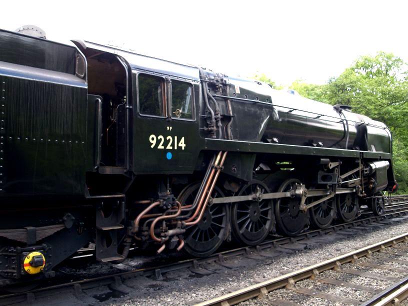 Standard BR 9F 2-10-0 92214